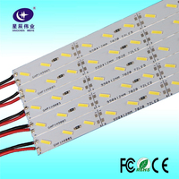 China manufacturer hot sale high lumen DC12/24V luminium smd 7020 led rigid strip for indoor decoration