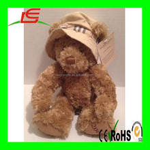 custom plush toy Wear a hat teddy bear