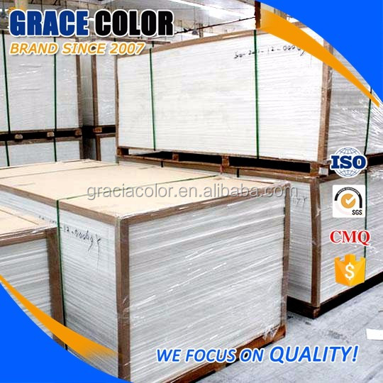 GRACE COLOR rigid high gloss foam forex 5mm pvc factory