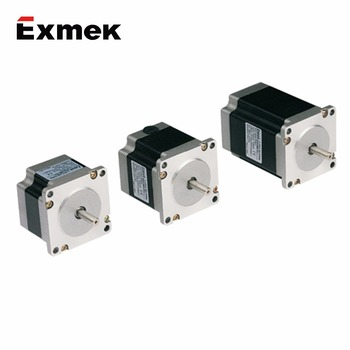 China wholesale 12v 24v 48v high power double shaft stepper motor