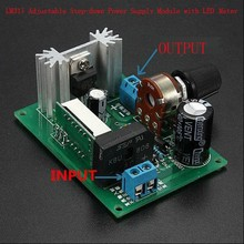 LM317 DC-DC Converters Step Down Power Module Adjustable with LED Meter
