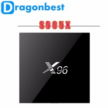 X96 TV Box OTA Update Amlogic S905X KODI Wifi Android 6.0 Smart TV Box