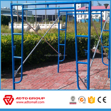 American scaffolding frame ,joint pin cross brace ladder frame system scaffodling/scaffolding system a frame