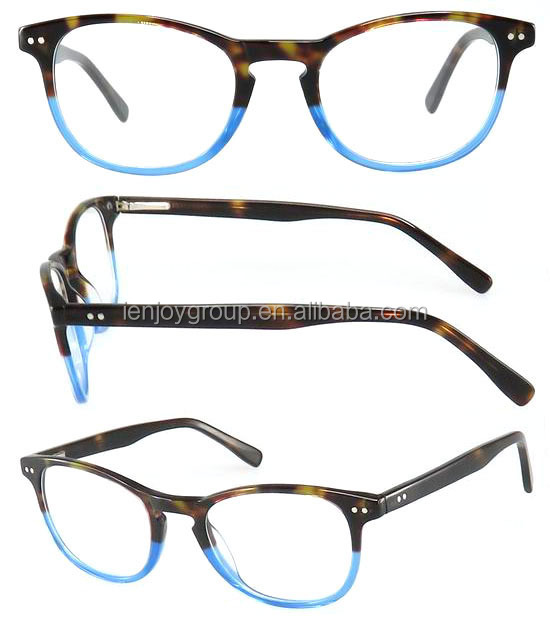 Fashion models in Europe and America retro neutral color optical frames wholesale eyewear frames