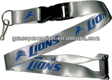 silkscreen printed custom nylon lanyard for christmas promotional advertising giveaway gifts