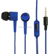 High Quality Braided Wired Earphone Headphone Mobile Phone Accessories