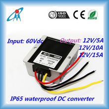 60V to 12V 5A 10A 15A DC/DC converter for electric vehicle