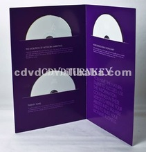 Disc replication and printing with custom cd packaging and printing