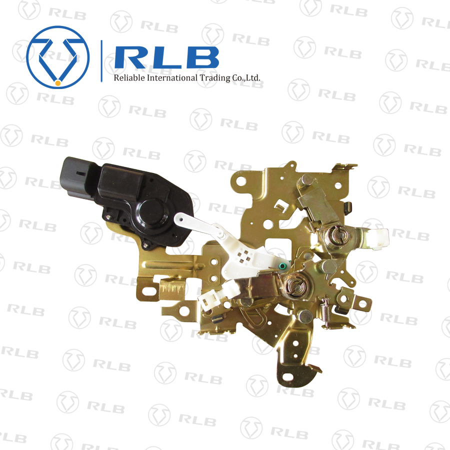 The hiace right siding door lock control assy with motor