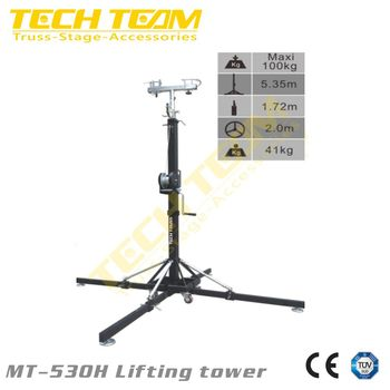 MT-530H Lifting tower , 100KG Truss stand Lifting tower