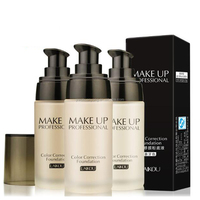 Wholesale Cheap Private Label Waterproof Cosmetic Liquid Face Makeup Foundation