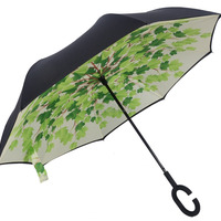 Customized Advertising Reverse Folding Umbrella