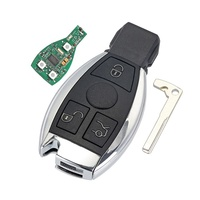 Top selling for Mercedes Benz BGA NEC mb 3 button smart remote key with 434MHz
