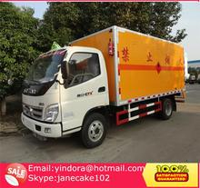 China cheap price dynamite transport truck, detonator tansport truck, fireworks transport trucks