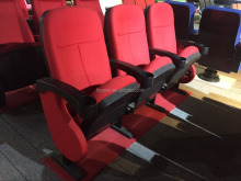cheap folding theater chair cinema seat manufacturer(YA-07C)