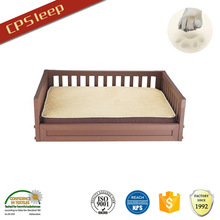 OEM Hot Selling New Arrival High Quality New Design Square wood dog bed furniture