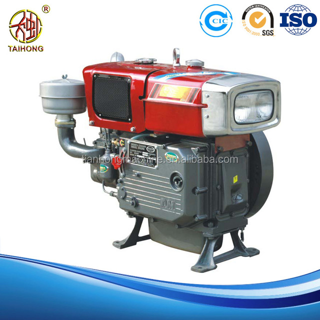 Portable Powerful Air Cooled pump boat diesel engine