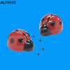 Hand painted Ladybug Ceramic Salt & Pepper Holder