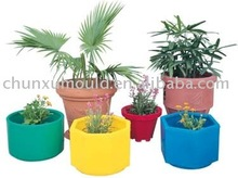 Rotational garden plastic planter by roto mould