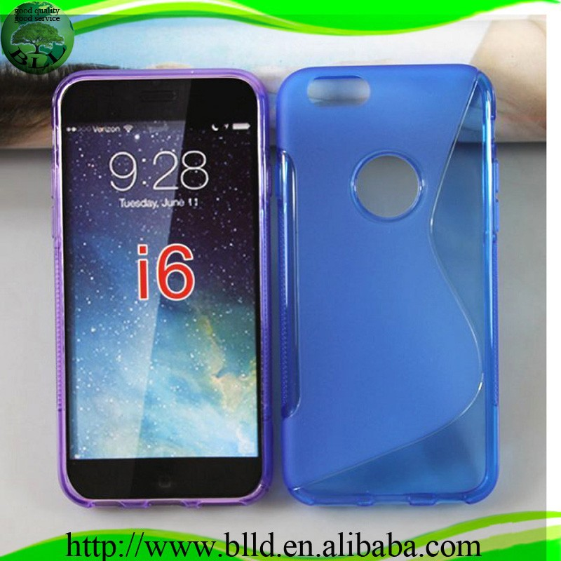 Manufacturer Wholesale clean gel s line stylish soft TPU Phone case for Iphone 6