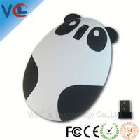 New Style 2.4G USB Wireless Optical Panda receiver driver wireless usb pc mouse For PC Laptop