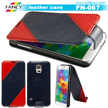 Supply to Wal-Mart premium quality direct factory price two mobile phones leather case OEM support
