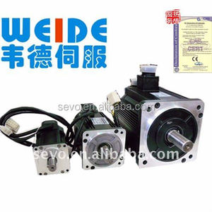 750W/1.0KW 3000/2000/2500RPM 2.4/3.5/4.0nm ac servo drive and motor