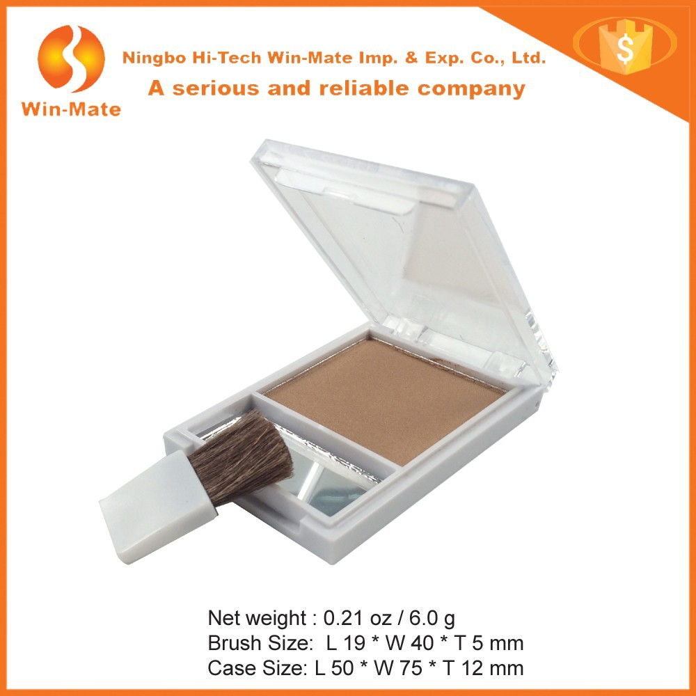 Hot Cosmetic Face Powder With 1 Flat Brush Foundation