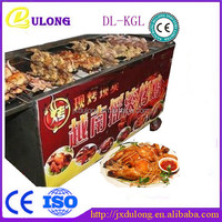 Top quality DL-KGL full automatic electric rotary chicken grill machine for sale