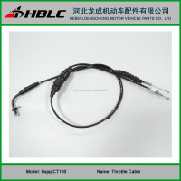 Hot Sale BAJAJ CT100 Throttle Cable for Motorcycle
