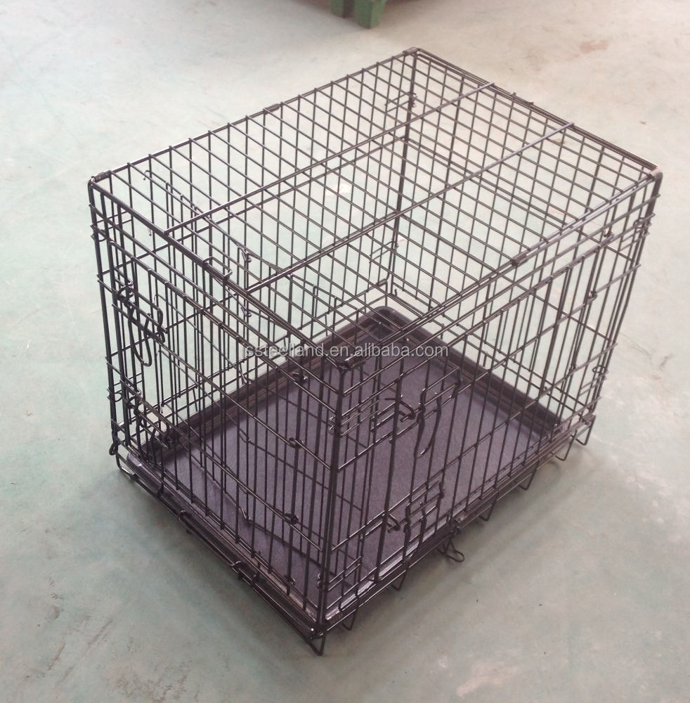 hot seller for USA market ABS pan with divider pet dog crate
