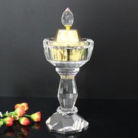 crystal high quality wax incense burner for Wholesale