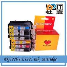 Import cheap goods from china PGI220 CLI221 inkjet ink cartridge for Canon MX 860