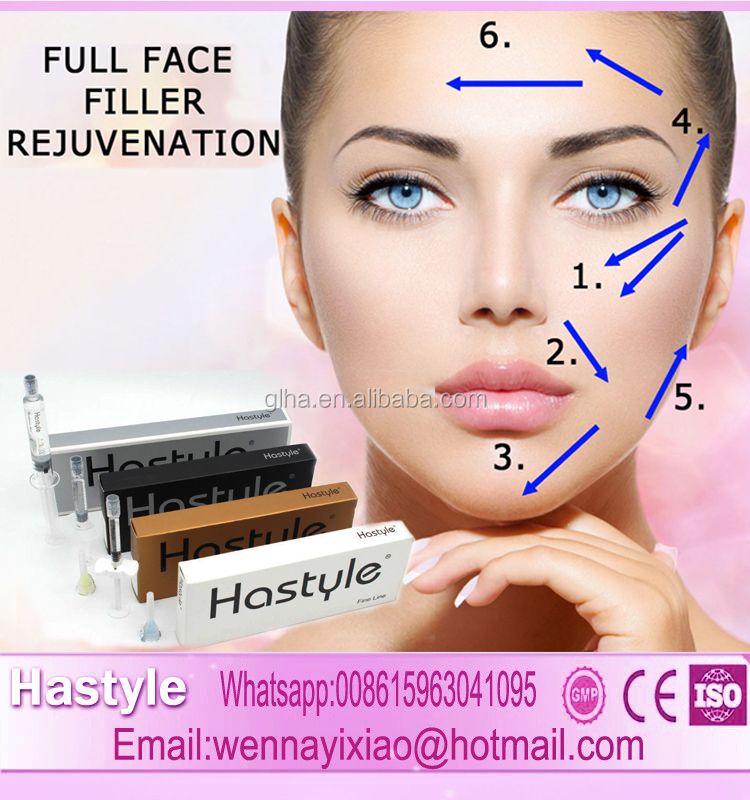 20ml CE Mark Derm Deep ha filler Pharmaceutical Grade Hyaluronic acid injection drop ship Hastyle Hyaluronic acid dermal filler