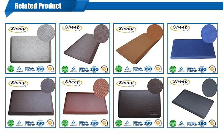 새로운 디자인 사각형 바닥 매트 헤어 살롱 장비 및 가구
