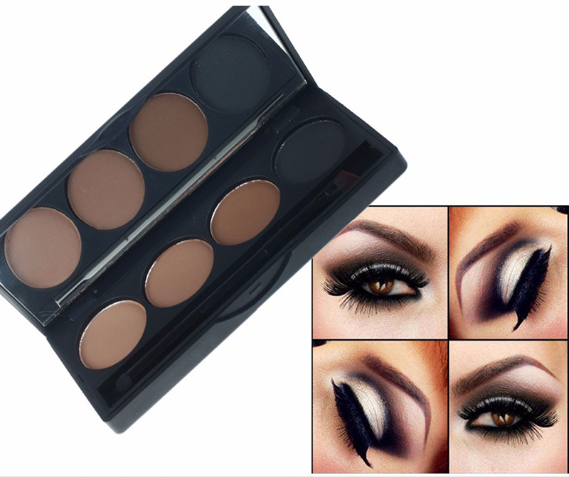 eyebrow tint, eyebrow kit, 4 color eyebrow palette