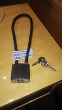 15 INCH Wire rope lock, safe gun lock, barrel lock