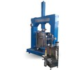 High viscosity glue discharging equipment, hydraulic pressure lifting press