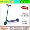 No folding child 3 wheels scooter kids foot kick scooter