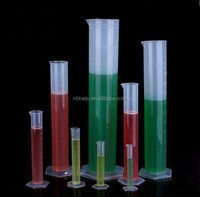 Plastic PP Laboratory Function Of Measuring Cylinder