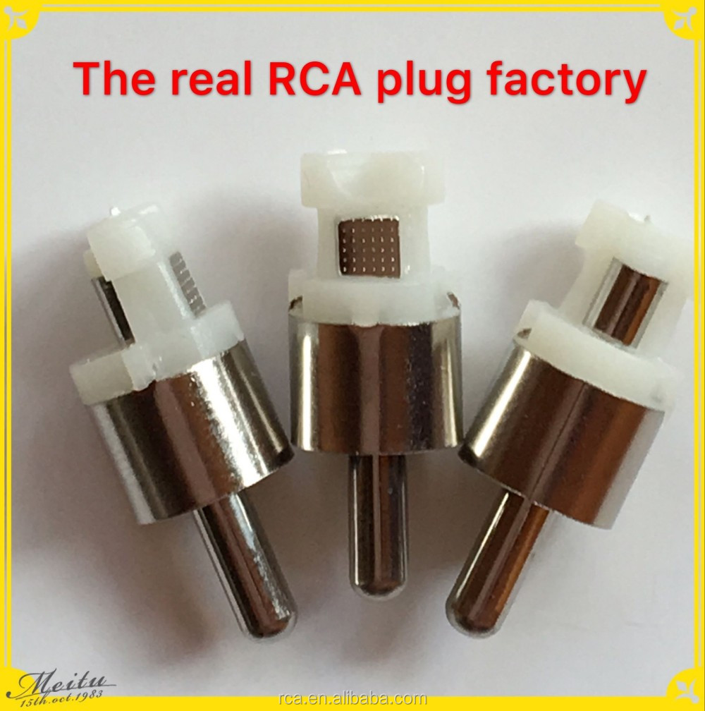The real factory direct sales connectors plug vga rca audio cable