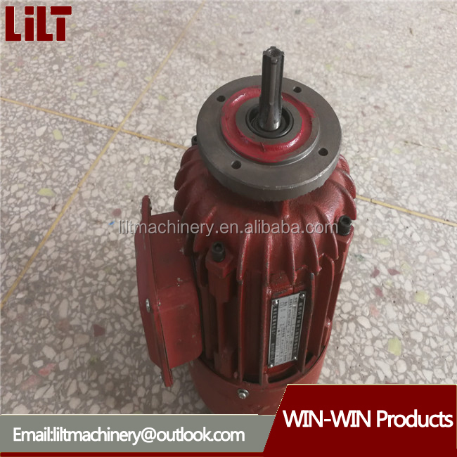 120v 2hp 1.5kw small ac three phase induction electric motor