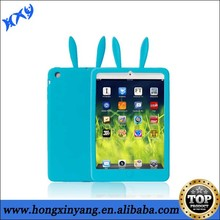 Animal Silicone Rabbit Ears Shaped Design Cover Case For Ipad mini