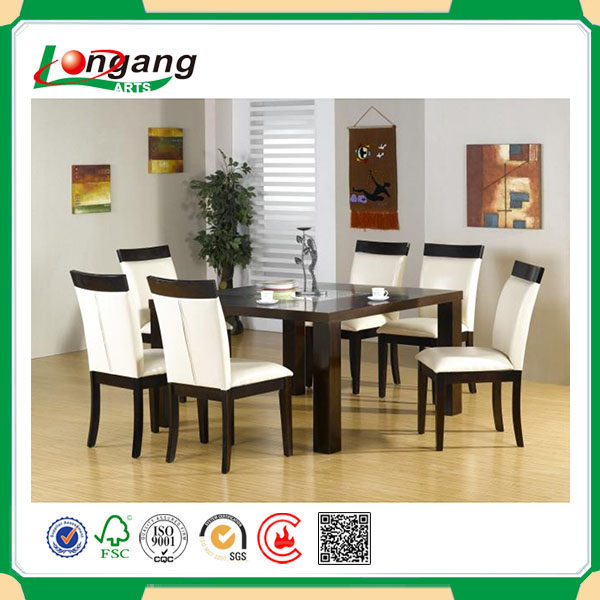 2016 new home cheapest MDF wood dining table