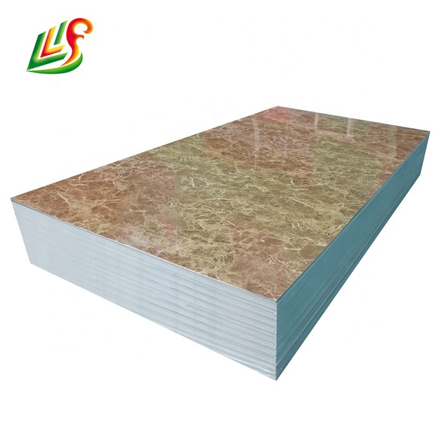 Wall Panel,Pvc Marble Sheet,Decorative <strong>Plastic</strong> Wall Covering Sheets Waterproof <strong>Material</strong>
