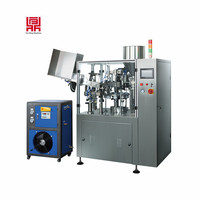 automatic cosmetic tube filling and sealing machine price