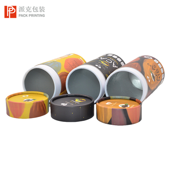 Wholesale food grade aluminum foil  white tea / medicinal herbs paper tube packaging