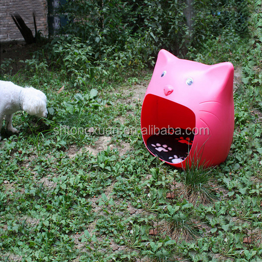 Durable Plastic Cute PET House/Small Dog Bed/Cat house