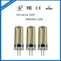 Silicon Cover High Power 3.5W 300lm Led G4 Bulbs,220v G4 Led
