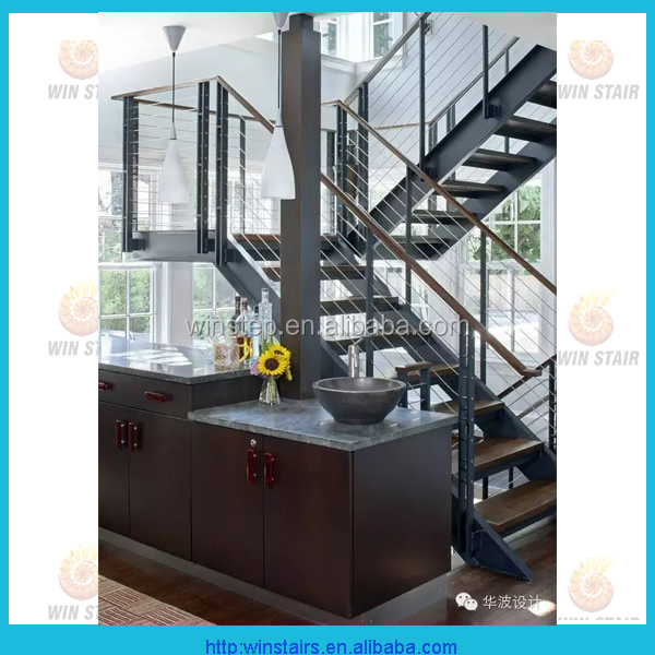 stairs as decorate steel wood modern home decors open riser staircase